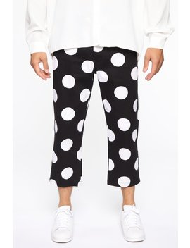 all-the-way-around-polka-dot-cropped-pants---black_combo by fashion-nova
