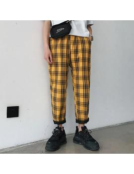"""Grid"" Pants by Aesthentials"