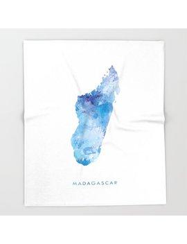 madagascar-throw-blanket by society6
