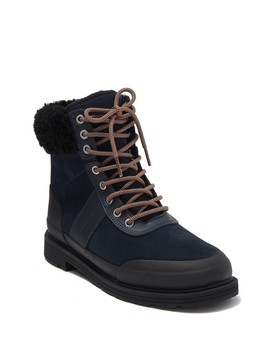 insulated-leather-commando-boot by hunter