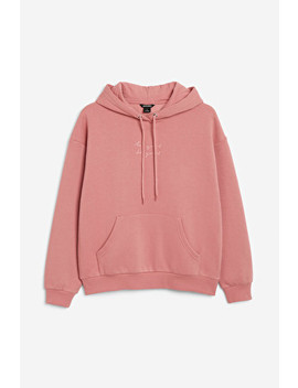Embroidered Hoodie by Monki