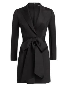 scuba-wrap-suit-dress by badgley-mischka