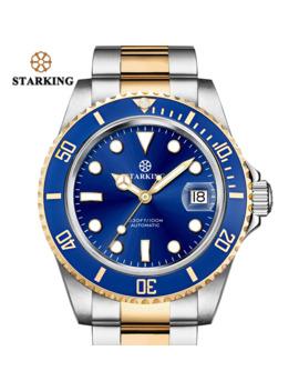 starking-sport-watch-100m-waterproof-men-stainless-steel-chronograph-mechanical-watch-bule-male-wrist-watch-fashion-role-watches by aliexpresscom