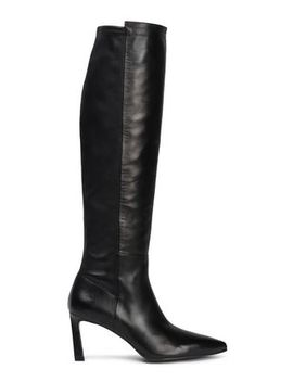 stretch-leather-knee-boots by stuart-weitzman