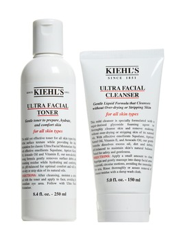 ultra-facial-cleanse-&-tone-duo by kiehls-since-1851