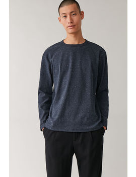 Speckled Jersey Jumper by Cos