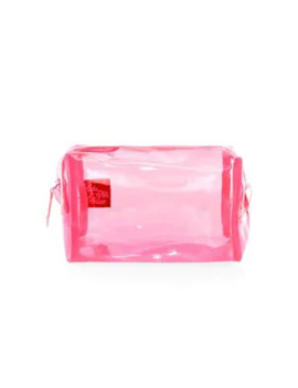 collection-translucent-neon-makeup-pouch by saks-fifth-avenue