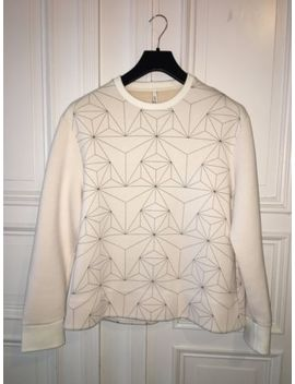 Neil Barrett Neopren Jumper White Xl by Ebay Seller