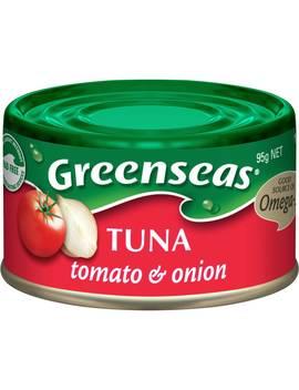 Greenseas Tuna Tomato & Onion 95g by Woolworths