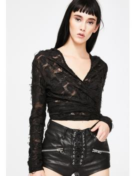 hooded-distressed-wrap-top by antibrand