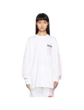 white-facts-long-sleeve-t-shirt by heron-preston