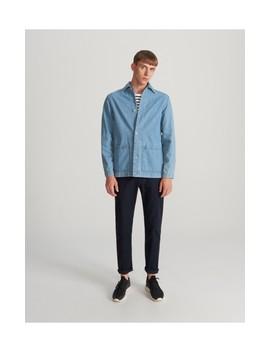 organic-cotton-denim-shirt by reserved