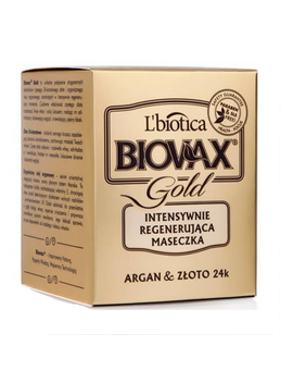 l`biotica-lbiotica-biovax-gold-intensive-regenerating-hair-mask-argan-&-gold-24k by l`biotica
