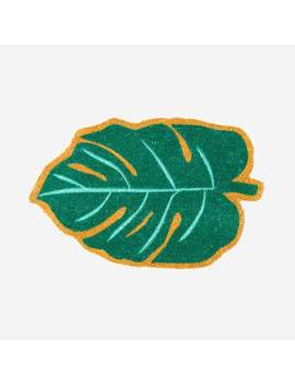 monstera-leaf-doormat by dormify