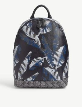 pygmy-leaf-print-backpack by ted-baker