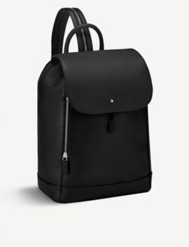meisterstück-one-shoulder-leather-rucksack by montblanc