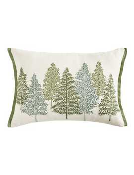 beaded-green-trees-lumbar-pillow by pier1-imports