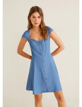 myk-kjole-i-denim by mango