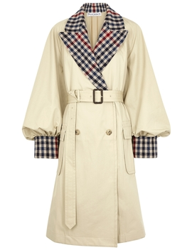 Sand Cotton Trench Coat by Jw Anderson