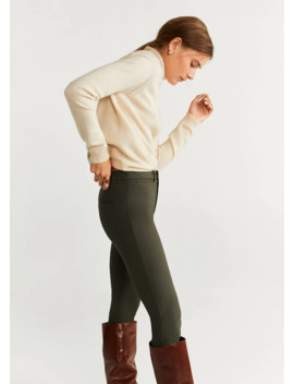 slim-fit-bukser by mango