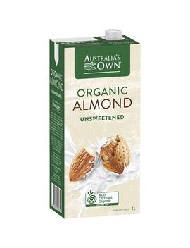 Australia's Own Unsweetened Almond Milk 1l by Woolworths