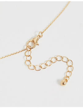 asos-design---collana-oro-con-piccola-farfalla by asos-design