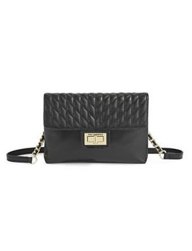 agyness-quilted-leather-belt-bag by karl-lagerfeld-paris