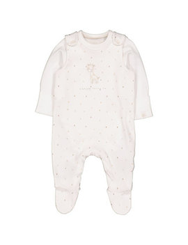 My First Dungarees And Bodysuit Set by Mothercare