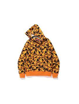bape-x-xo-shark-pullover-hoodie-orange by stockx