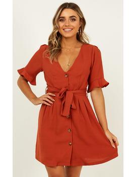 new-start-dress-in-rust by showpo-fashion