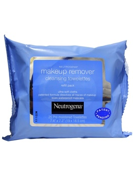 Neutrogena, Makeup Remover Cleansing Towelettes, 25 Pre Moistened Towelettes by Neutrogena