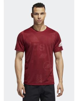 freelift-daily-press-t-shirt---t-shirts-med-print by adidas-performance