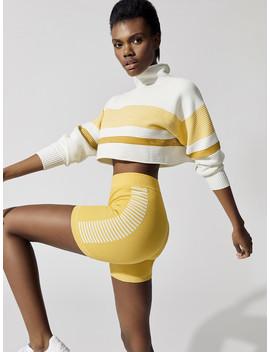 Cropped Retro Rib Sweater by Nagnata