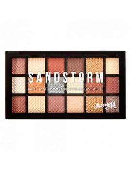 Baked Matte & Metallic Eyeshadow Palette Sandstorm 16.8 G by Barry M