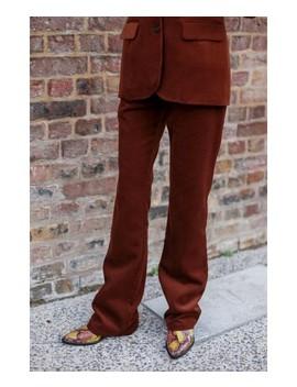 parfait-corduroy-brown-trousers by la-petite-française