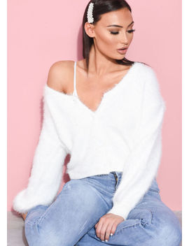 chunky-fluffy-knitted-oversized-cropped-cardigan-white by lily-lulu-fashion
