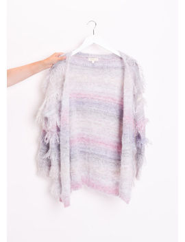 fringed-mohair-fluffy-longline-cardigan-multi by lily-lulu-fashion