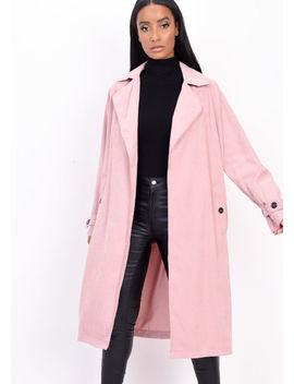 light-weighted-longline-trench-coat-pink by lily-lulu-fashion