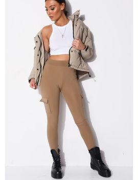 utility-stretch-pocket-detail-leggings-beige by lily-lulu-fashion