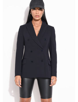 double-breasted-tailored-longline-blazer-navy-blue by lily-lulu-fashion