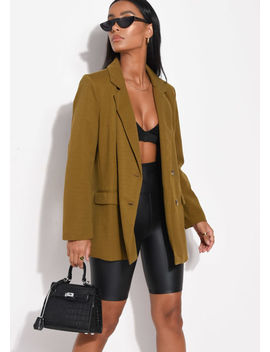 oversized-double-breasted-tailored-blazer-dark-mustard-yellow by lily-lulu-fashion