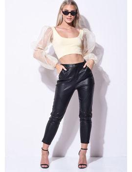 high-waisted-pu-skinny-trousers-black by lily-lulu-fashion