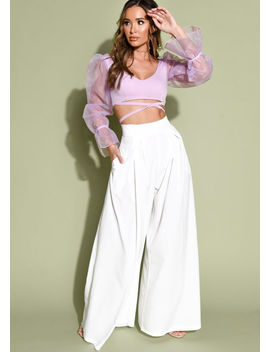 wide-leg-high-waisted-palazzo-trousers-white by lily-lulu-fashion