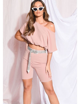 drawstring-crop-top-cycling-shorts-co-ord-set-mauve-pink by lily-lulu-fashion