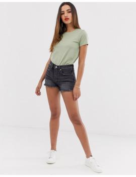 asos-design---ultimate---t-shirt-ras-du-cou---kaki by asos-design