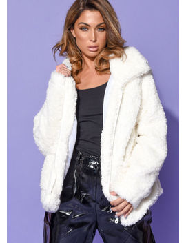 faux-fur-oversized-zip-up-teddy-jacket-white by lily-lulu-fashion