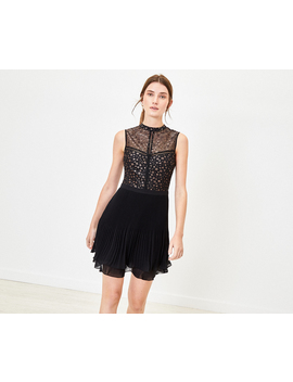 Star Pleated Dress by Oasis