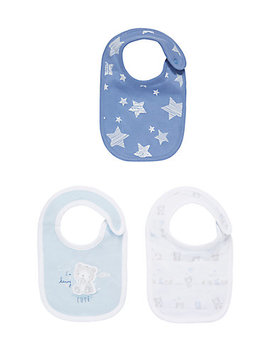 My First Bear Bibs   3 Pack by Mothercare