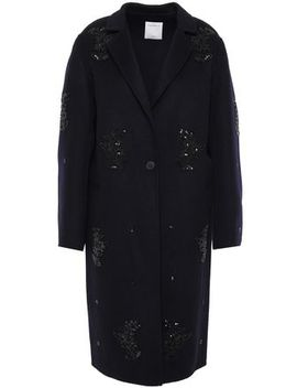 sequin-embellished-wool-blend-felt-coat by sandro