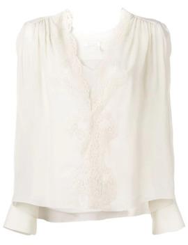 v-neck-blouse by chloé